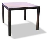 Стол плетеный Милан 90, темно-коричневый
