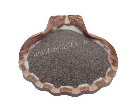 Серый кварцевый песок 1 кг.