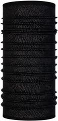 Тонкий шерстяной шарф-труба Buff Wool lightweight Tolui Black
