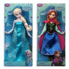 Эльза и Анна Холодное Сердце классические куклы 30 см