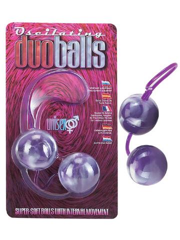 Вагинальные шарики со смещенным центром тяжести (3 см.; 101 гр.)