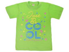 DLM11-59 футболка детская, салатовая