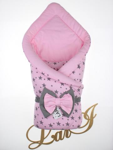 Конверт одеяло Звездопад (розовый)