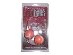 Вагинальные шарики со смещенным центром тяжести, розовые (3 см.; Вес 101 гр.)