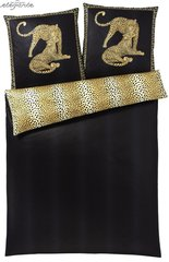 Наволочка 35x40 Elegante Gepard черная