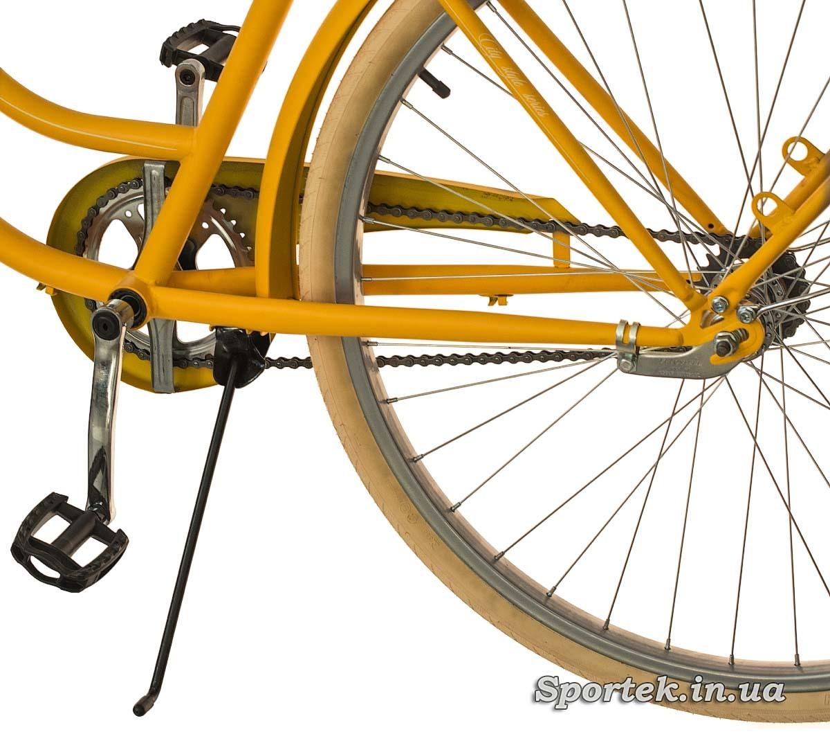 Подножка городского велосипеда Dorozhnik Retro 2016