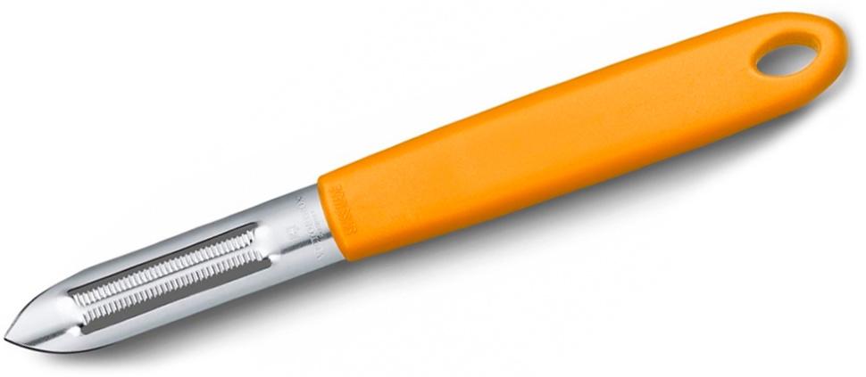 Нож Victorinox для чистки овощей, оранжевый (7.6077.9)