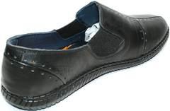 Летние мужские туфли Luciano Bellini 107607 Black.