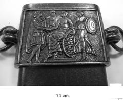 Кинжал Юлия Цезаря, в черных ножнах (I век до н.э.) DE-4116-NQ
