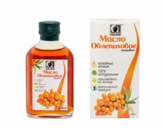 Масло облепиховое (каратиноидов не менее 190 мг %)  нерафинированное пищевое «Сибирское»   100 мл