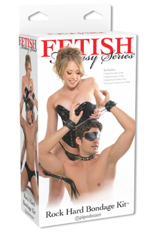 Набор бондажа Fetish Fantasy Series Rock Hard Bondage Kit черный