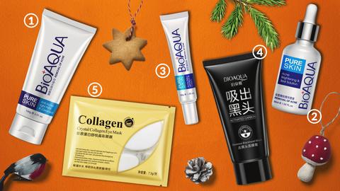 Новогодний набор бестселлеров по уходу за проблемной кожей лица