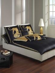 Элитная наволочка Gepard черная от Elegante