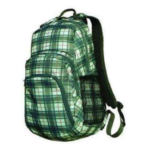 Рюкзак городской Манарага Maze Green (зеленый/клетка)