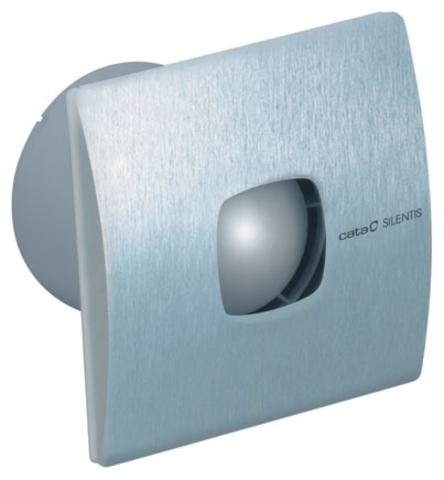 Вентилятор накладной Cata Silentis inox 12 Timer (таймер)