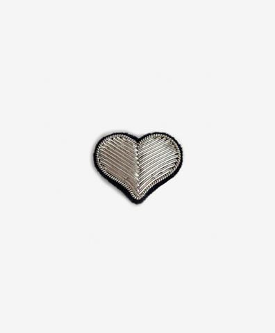 Брошь Heart Silver