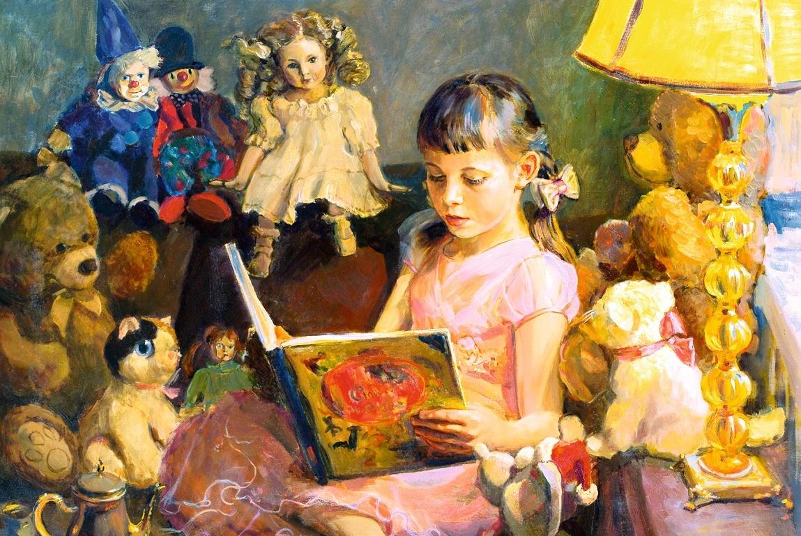 Фоторепродукции картин молодежи