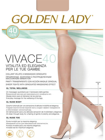 Колготки Vivace 40 Golden Lady