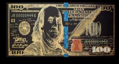 """Постер """"Доллар инверсия black"""""""