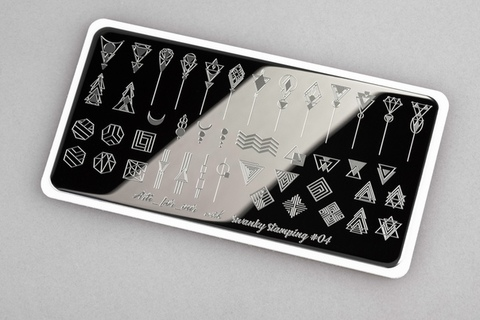 Пластина Swanky Stamping x Arti for you №04