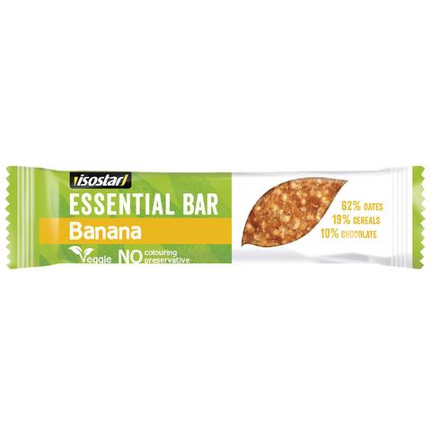 Энергетический батончик Isostar Essential Bar Банан 35 грамм