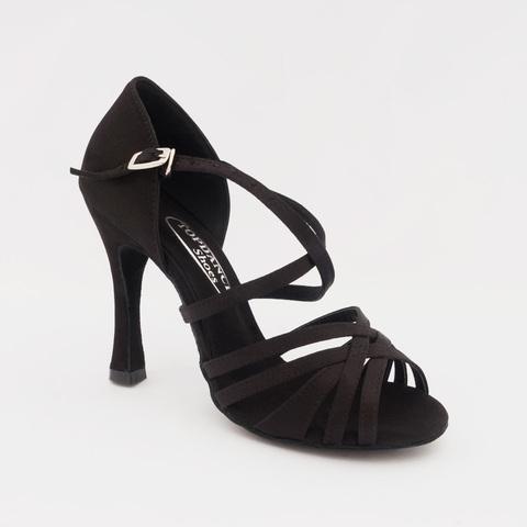 Туфли для латины на каблуке 10 см арт.S294b10