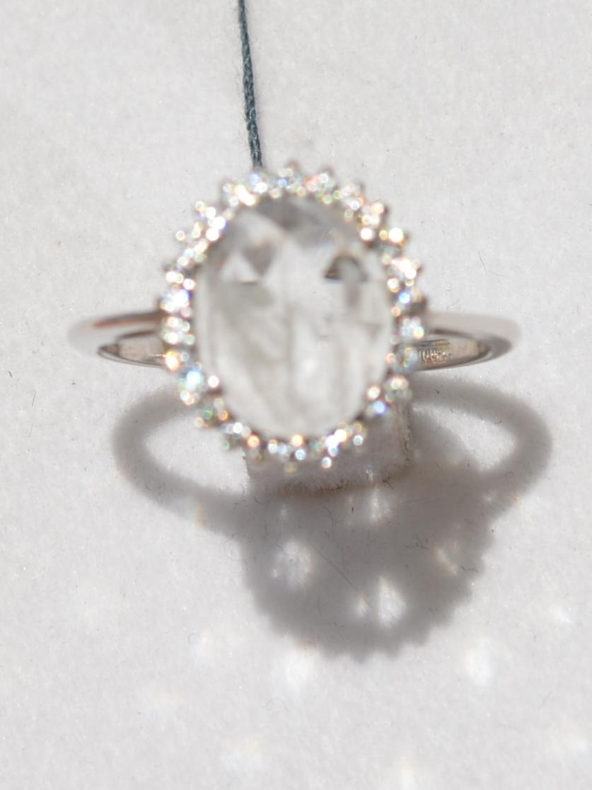 Джози-берилл  (кольцо из серебра)