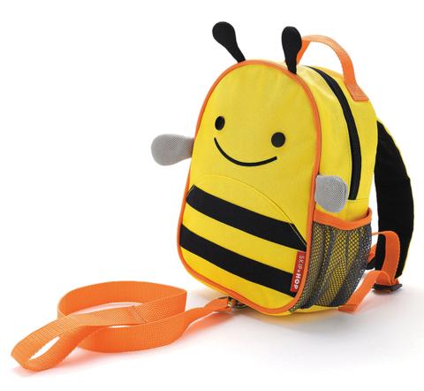Рюкзак Skip Hop Zoo с поводком Пчелка