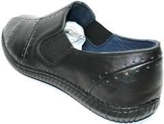 Туфли как кроссовки Luciano Bellini 107607 Black.