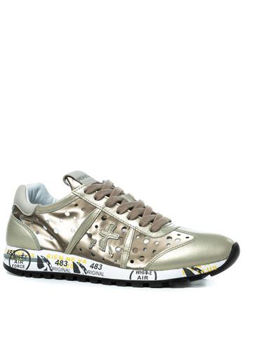 Комбинированные кроссовки Premiata Lucy-D 3659 с перфорацией