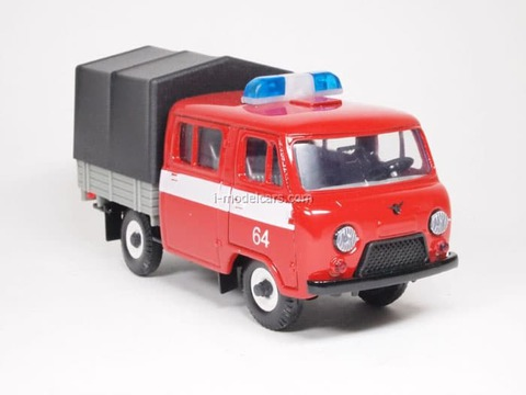 UAZ-39094 Farmer Fire Engine (awning) Agat Mossar Tantal 1:43