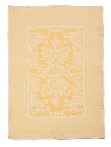 Полотенце 50х70 Leitner желтое