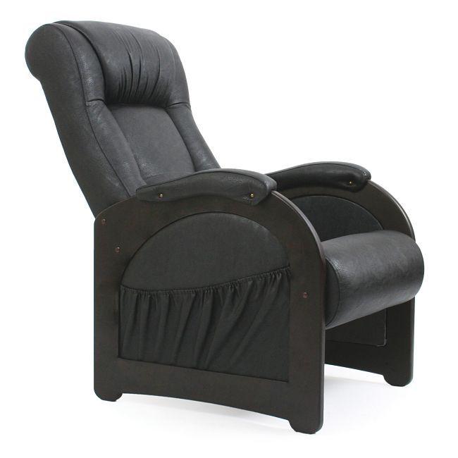 Кресла для отдыха Кресло Модель 43 Экокожа без косички М43_109_бл.jpg