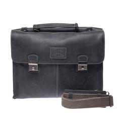 Портфель Klondike Native, черный, 40х11х31 см