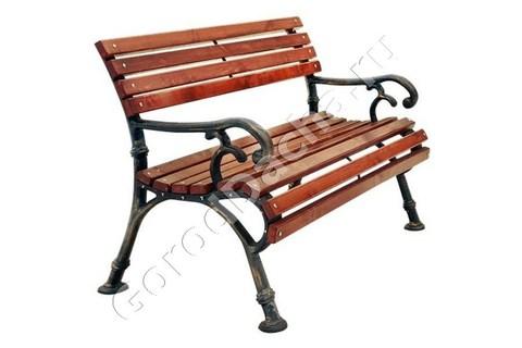 Скамейка чугунная «Ностальжи»