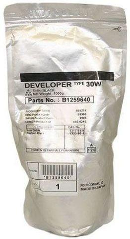 Девелопер Ricoh тип 30W для Ricoh 240W/MPW2400/2401/3600/3601/5100/7100/6700/7140/8140/SPW2470. Ресурс 60606 стр (B1259640)