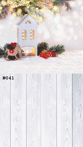 Фотофон виниловый стена-пол «Первый снег» №041