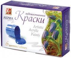 Краска - boya Луч akril 6 rəng 15ml