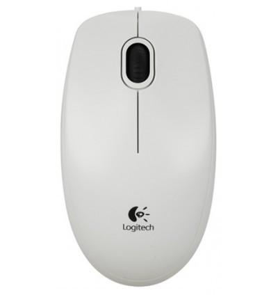 LOGITECH B100 White