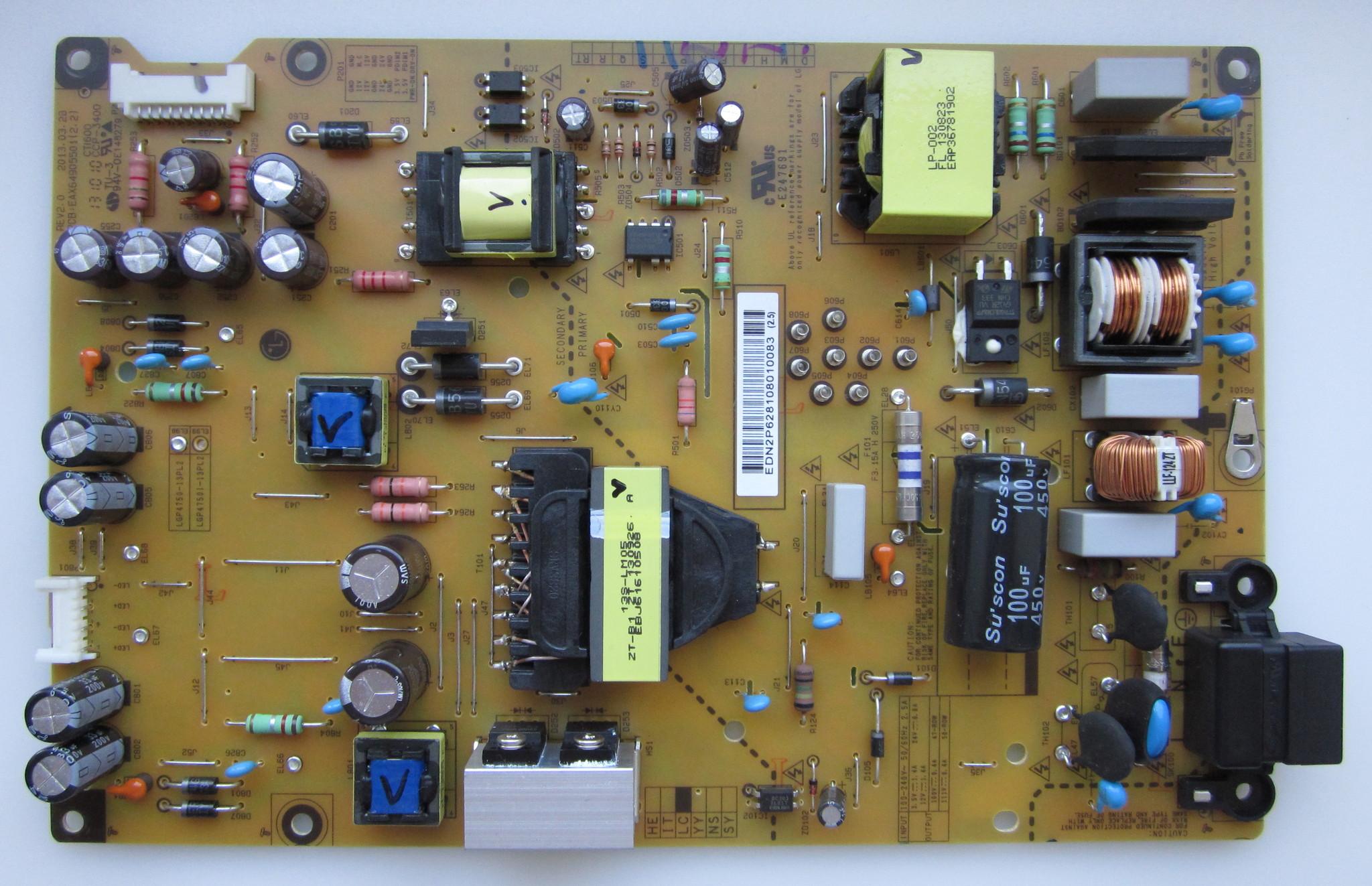 Eax64905501 2.2 схема