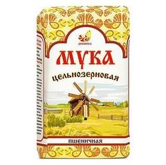 Мука пшеничная обойная, Дивинка, Цельнозерновая, 1 кг.