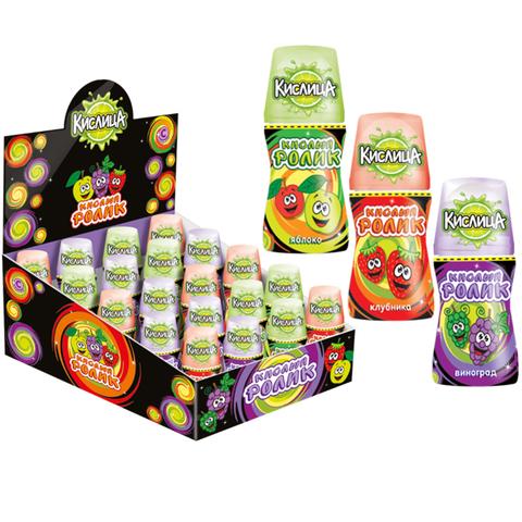 Кислица, кислый сироп с фруктовыми вкусами с витамином С 40мл, 1*12*20