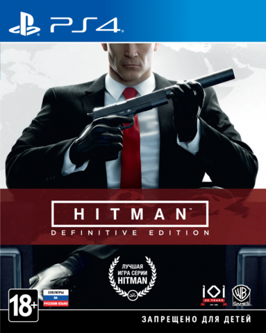 Sony PS4 HITMAN: Definitive Edition (русские субтитры)