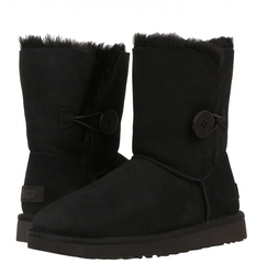 Непромокаемые UGG Bailey Button Black II