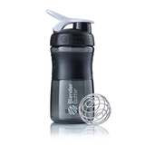 Бутылка-шейкер SportMixer Black/White