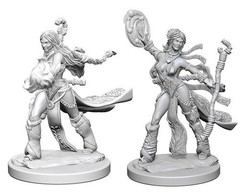 Pathfinder Deep Cuts Unpainted Miniatures - Human Female Sorcerer