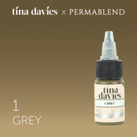 1 Grey • Perma Blend • пигмент для бровей