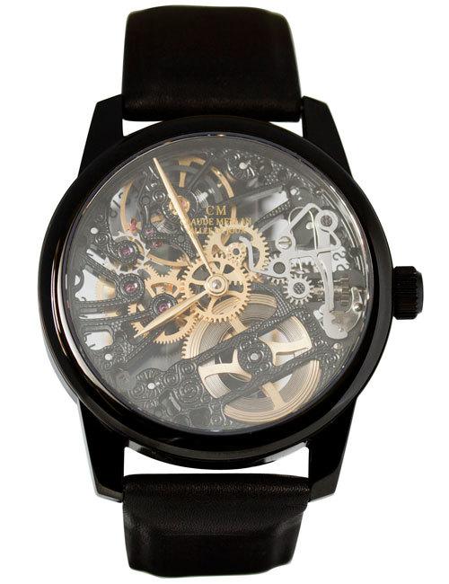 Часы мужские Claude Meylan 6044N Eclipse Les Squelettes