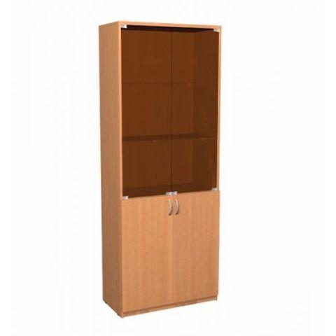 Шкаф А-310 двери тонированное стекло