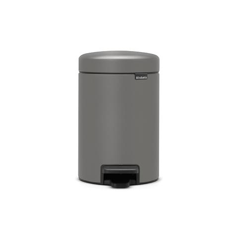 Мусорный бак newIcon (3 л), Минерально-серый, арт. 126260 - фото 1
